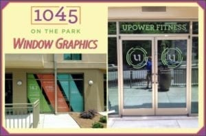 Outdoor Window Graphics