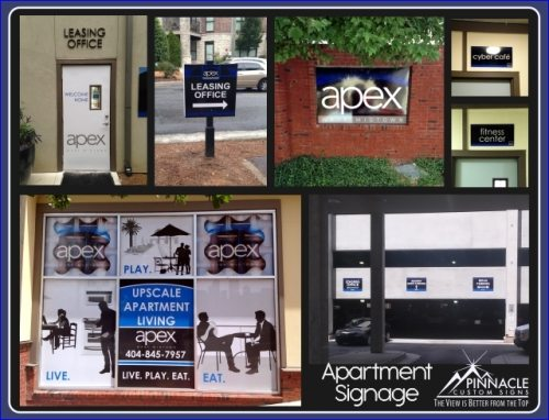 Apartments Apartment Signage
