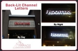 Backlit Channel Letters