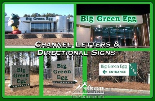 Channel Letters Directional Signs