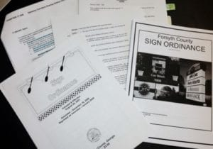 City County Sign Ordinances and Permits