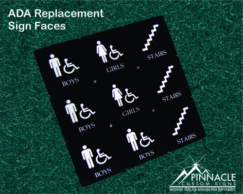 ADA Replacement Signs