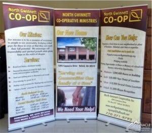Tradeshow Display - Standing Banner