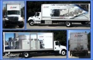 Truck Wrap Dimensional Design
